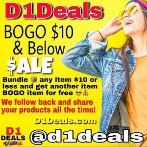 💰📦 BOGO $$$ Buy One ☝️Get One ☝️ Follow & Share